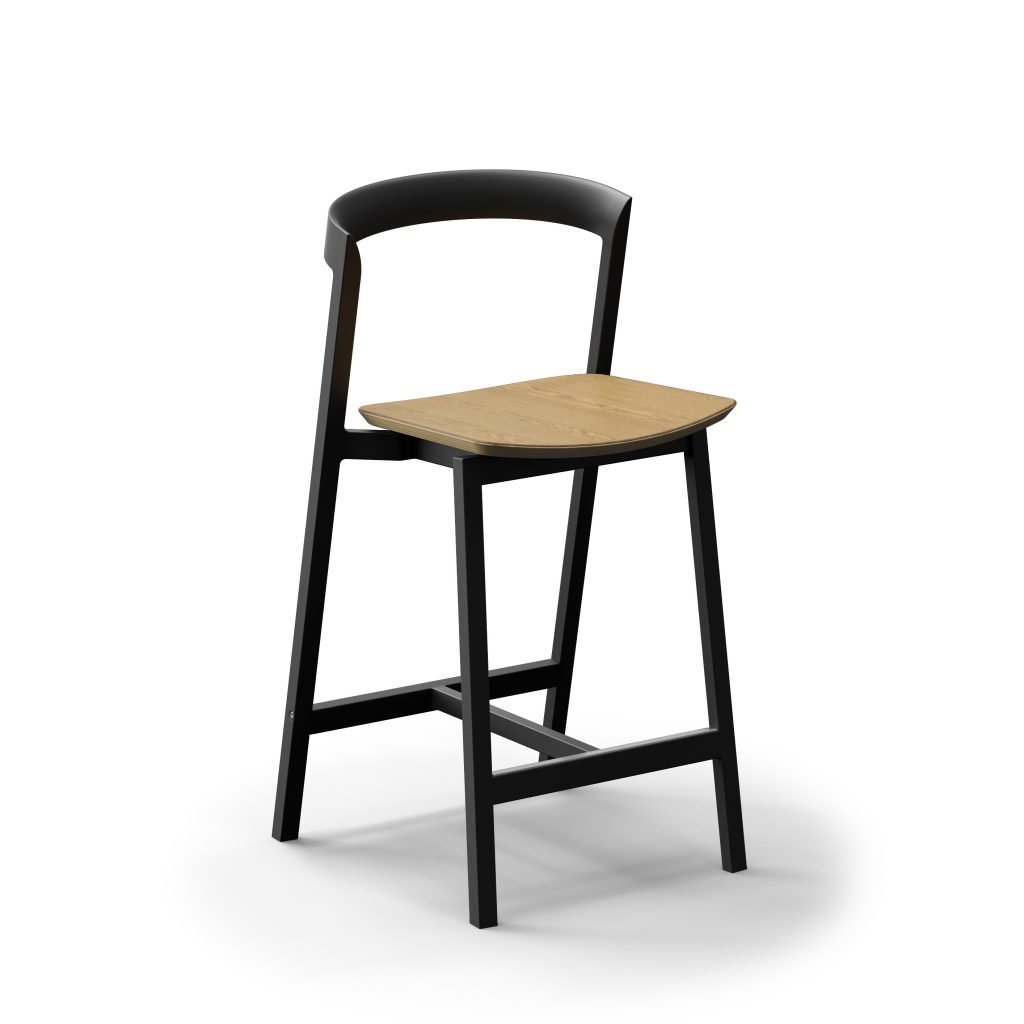 3 Of 9 Counter Stool And Bar Stool With Plywood Seat 01