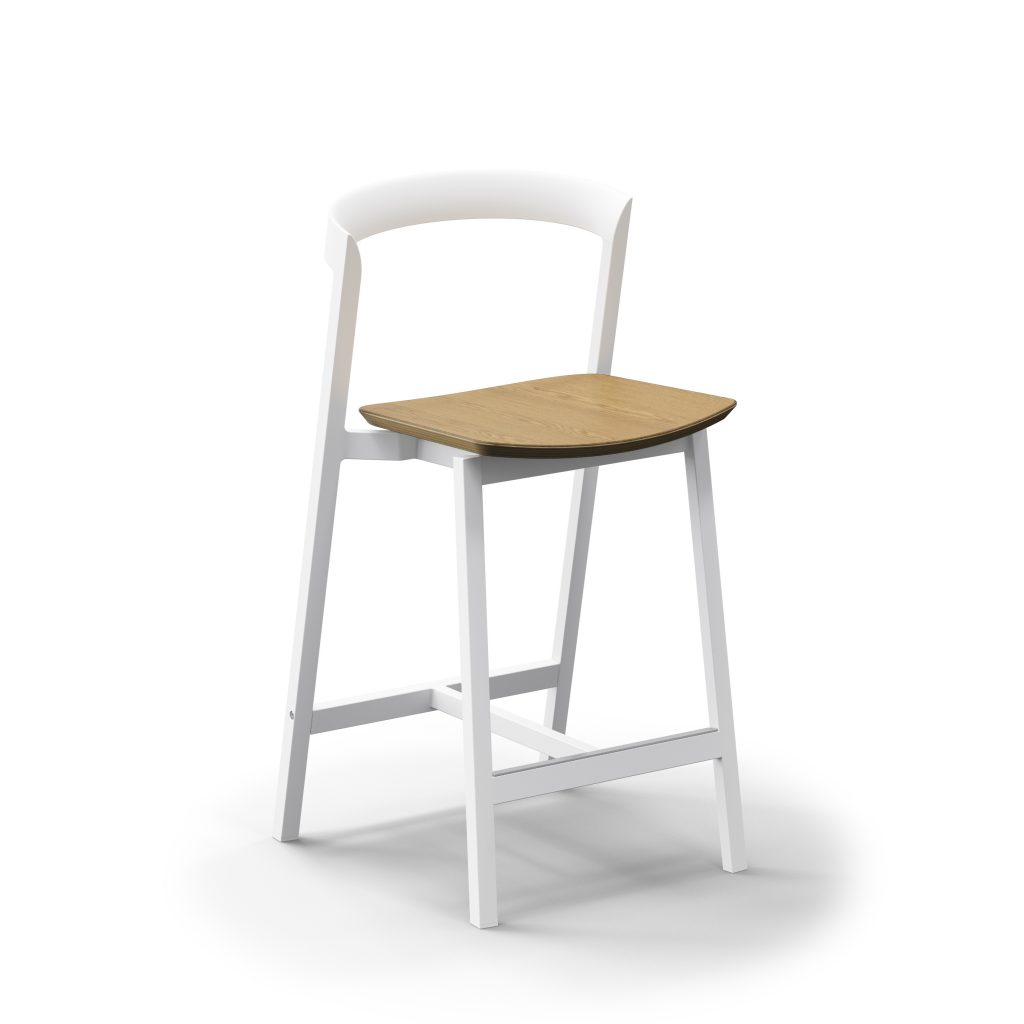 3 Of 9 Counter Stool And Bar Stool With Plywood Seat 02