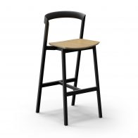 3 Of 9 Counter Stool And Bar Stool With Plywood Seat 03