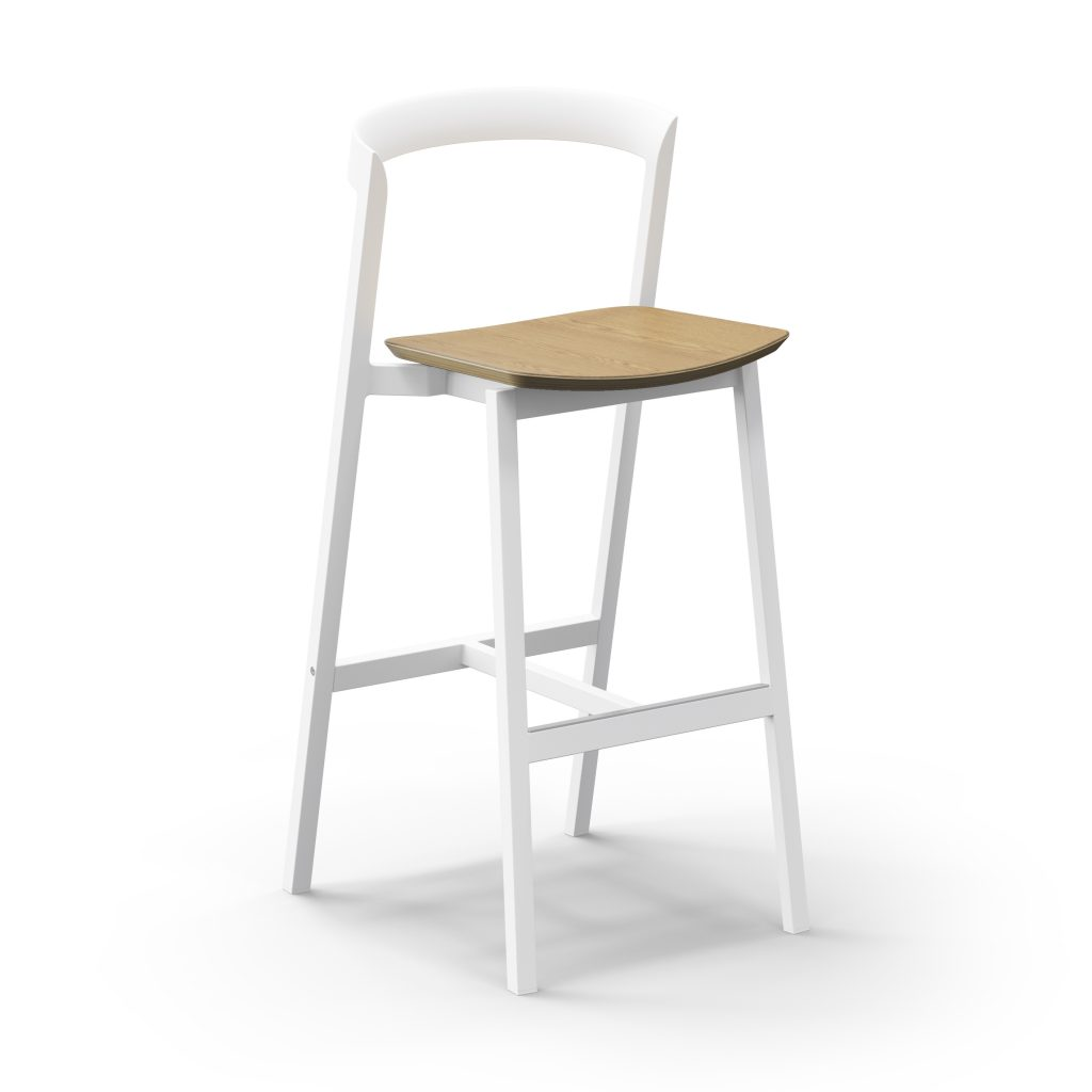 3 Of 9 Counter Stool And Bar Stool With Plywood Seat 04