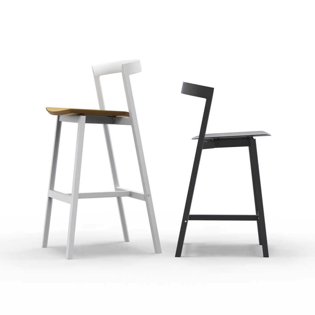 3 Of 9 Counter Stool And Bar Stool With Plywood Seat 05