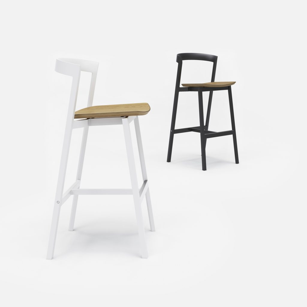 3 Of 9 Counter Stool And Bar Stool With Plywood Seat 07