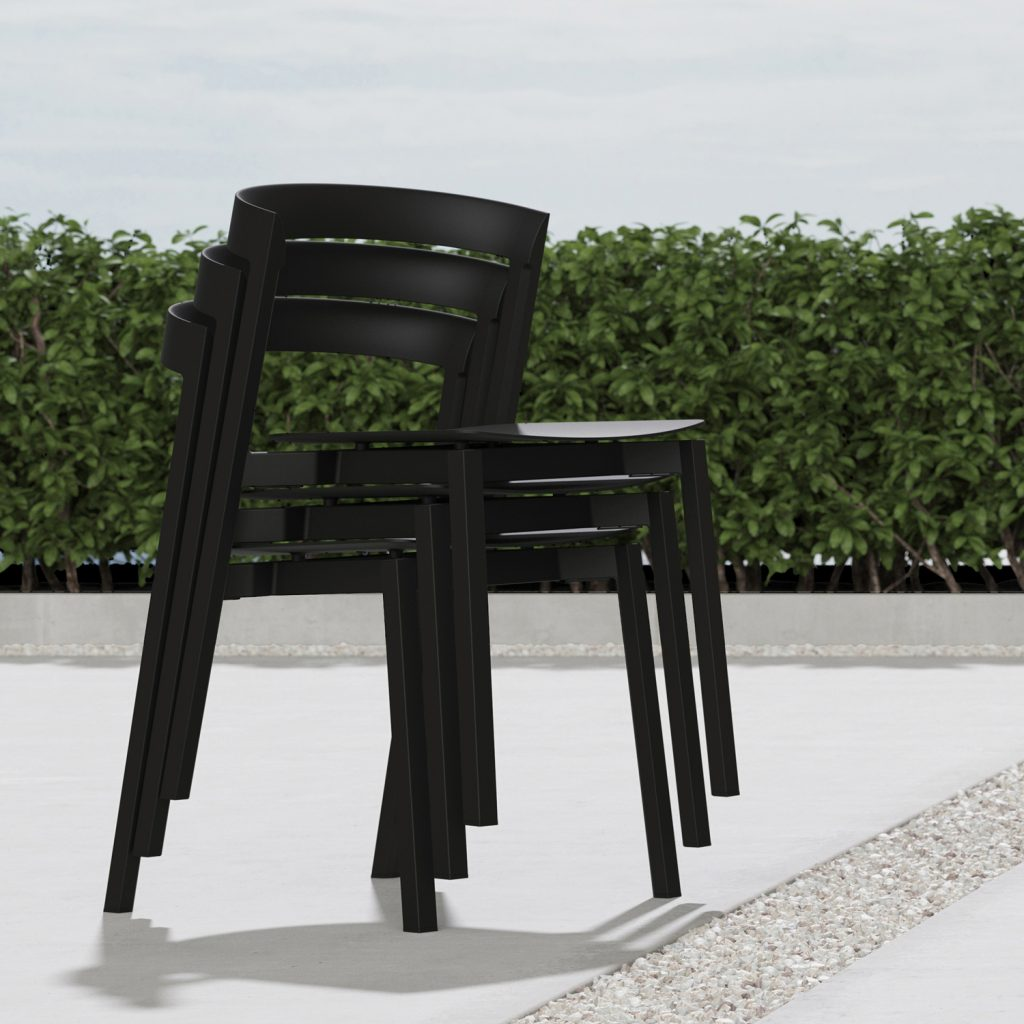 5 Of 9 Hover Indoor Outdoor Stacking Chair