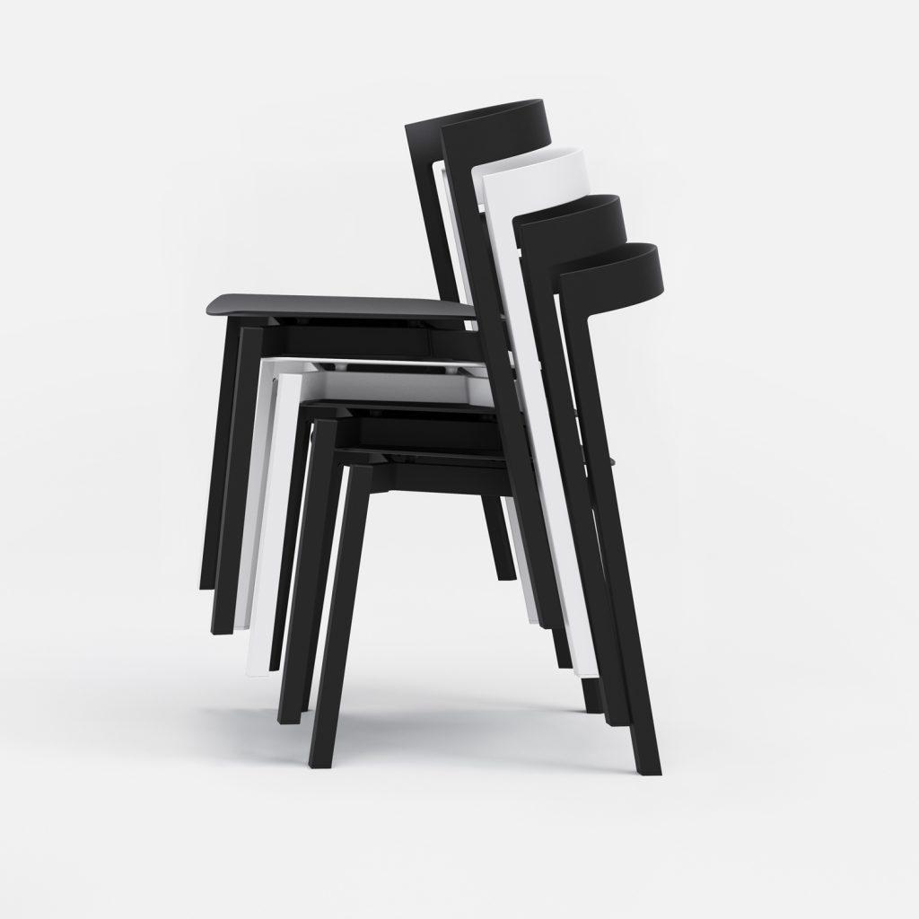 5 Of 9 Indoor Outdoor Stacking Chair 03