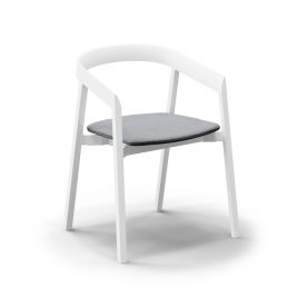7 Of 9 Indoor Outdoor Dining Chair With Removable Cushion 02