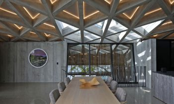 An Exploration Of Concrete Diagrid House By Jack Mckinney Architects Auckland Nz Image 20