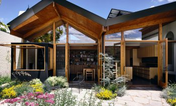 Welcoming Warmth Garden House By Bkk Architects North Fitzroy Vic Australia Image 05