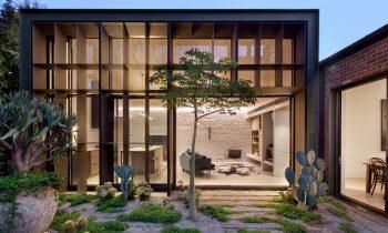 A Liveable Porous Form Baffle House By Clare Cousins Image 25