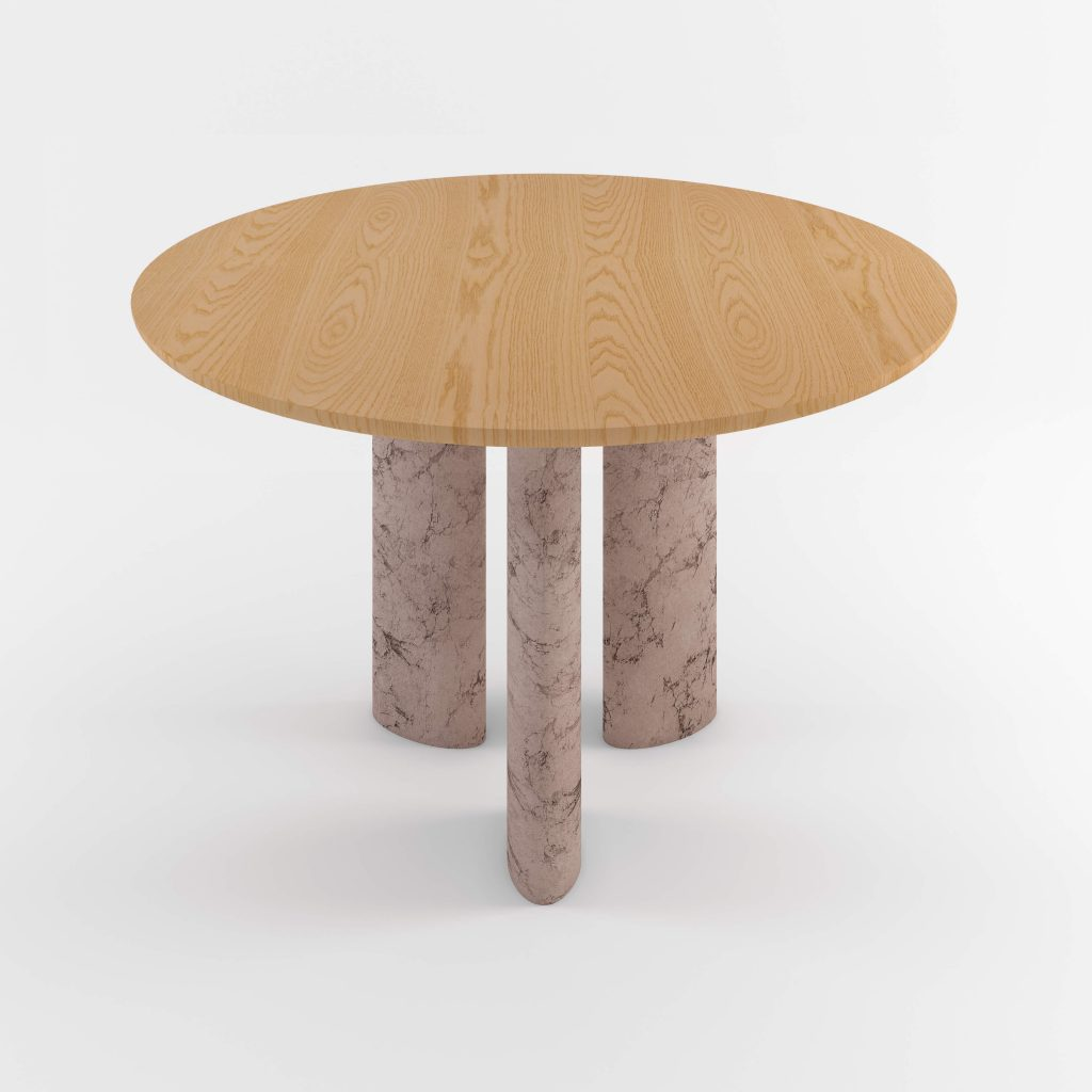 The Geo Round Dining Hall Tables By Daniel Boddam Studio Image 03