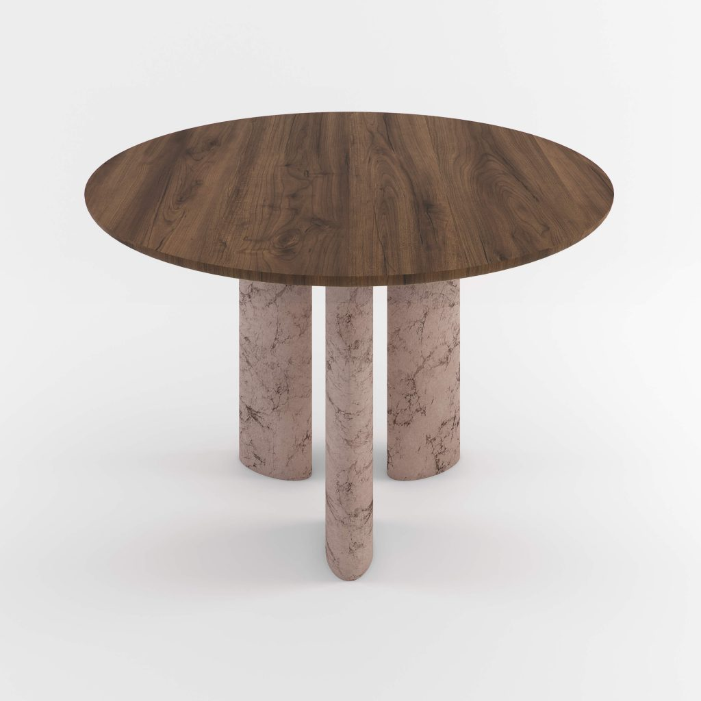 The Geo Round Dining Hall Tables By Daniel Boddam Studio Image 05