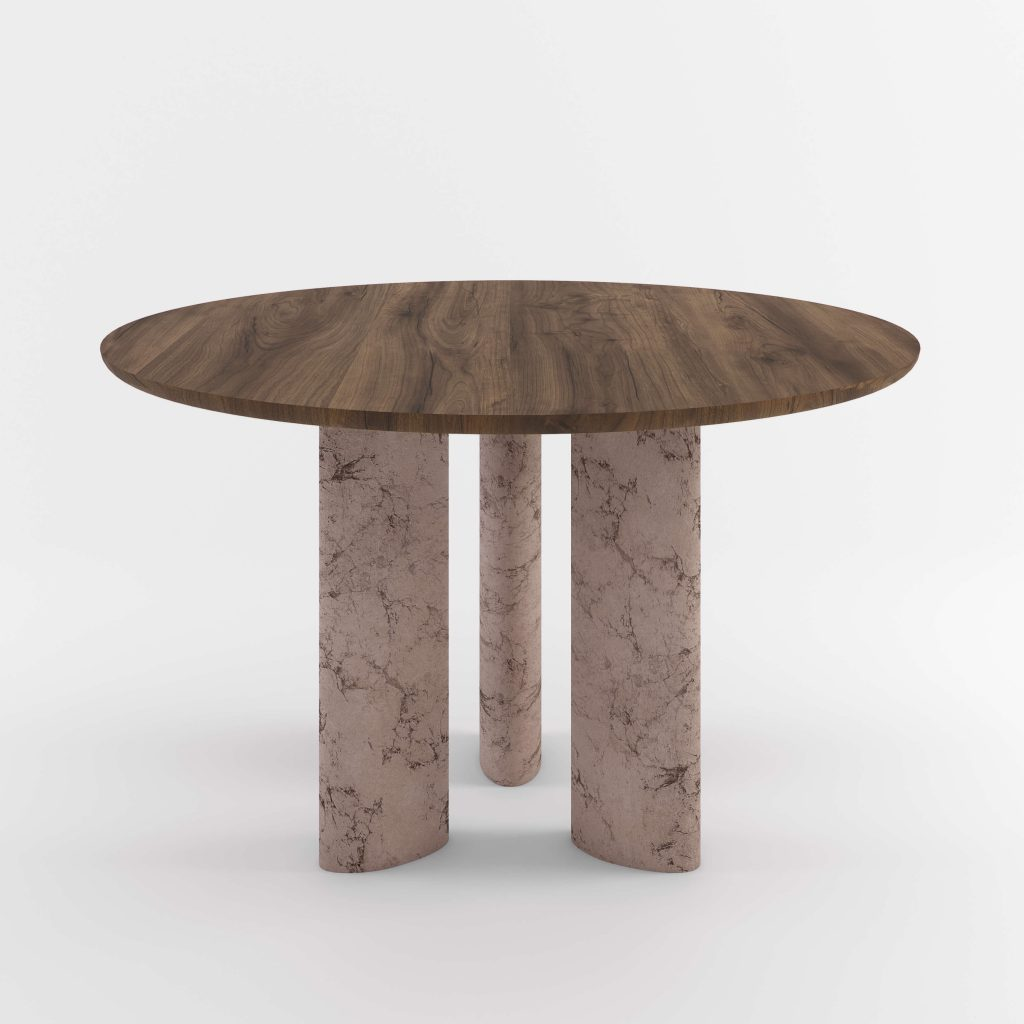 The Geo Round Dining Hall Tables By Daniel Boddam Studio Image 06