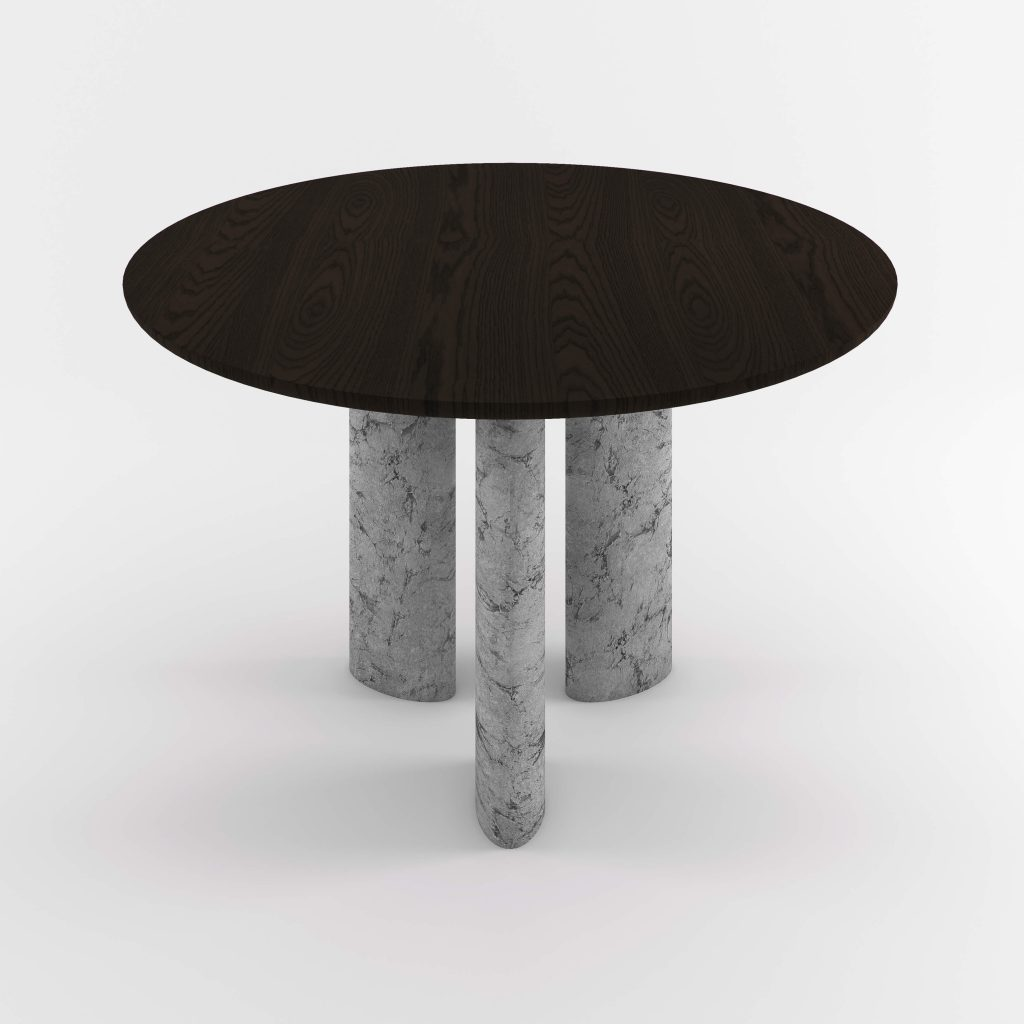 The Geo Round Dining Hall Tables By Daniel Boddam Studio Image 07