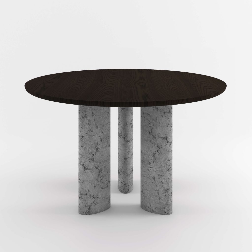 The Geo Round Dining Hall Tables By Daniel Boddam Studio Image 08