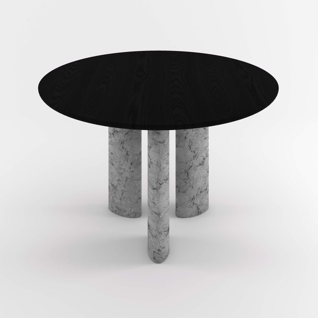 The Geo Round Dining Hall Tables By Daniel Boddam Studio Image 09