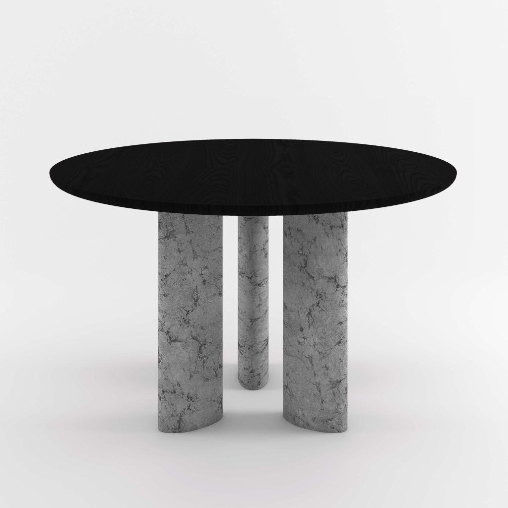 The Geo Round Dining Hall Tables By Daniel Boddam Studio Image 010