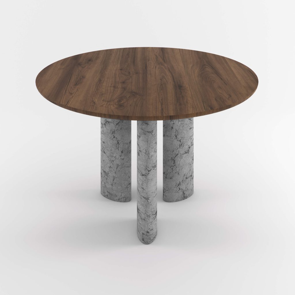 The Geo Round Dining Hall Tables By Daniel Boddam Studio Image 011
