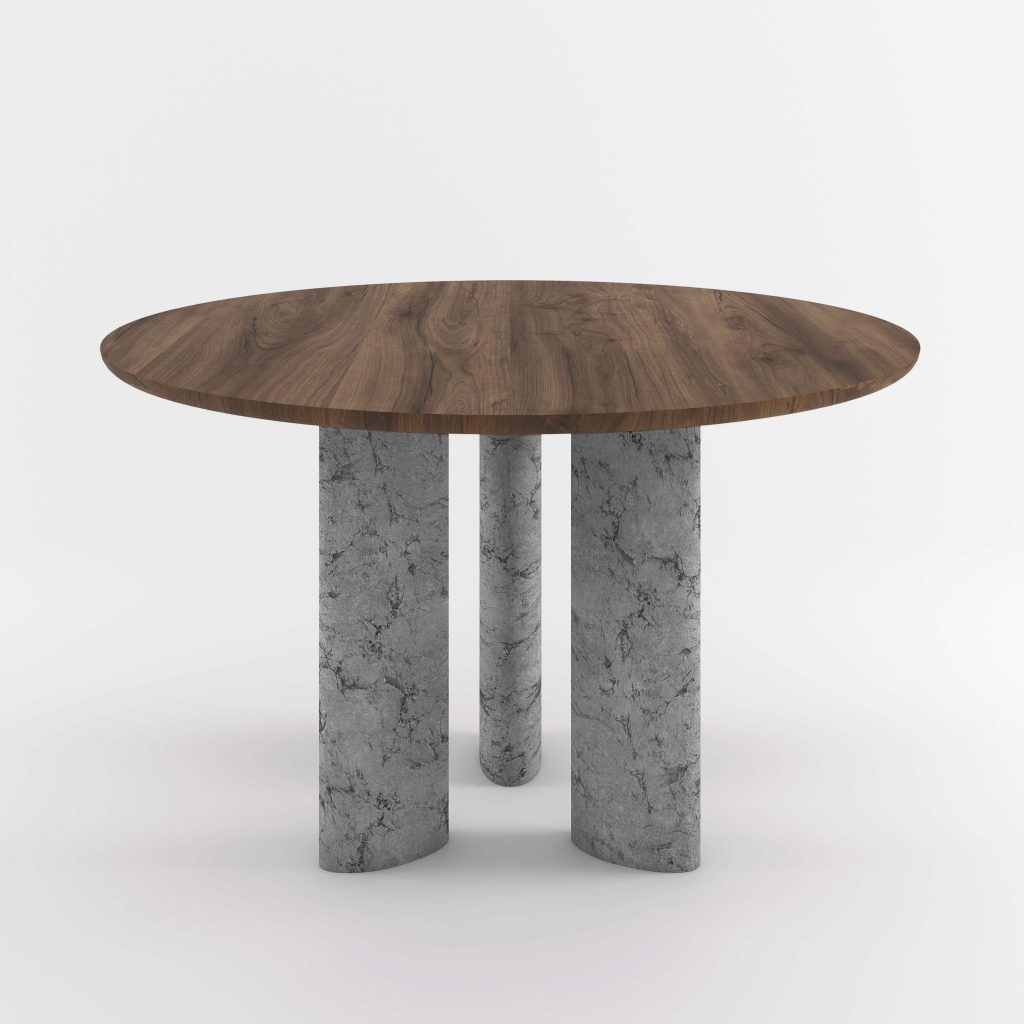 The Geo Round Dining Hall Tables By Daniel Boddam Studio Image 012