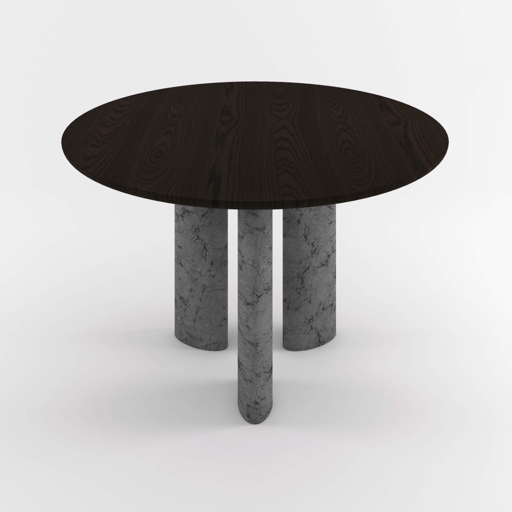 The Geo Round Dining Hall Tables By Daniel Boddam Studio Image 013