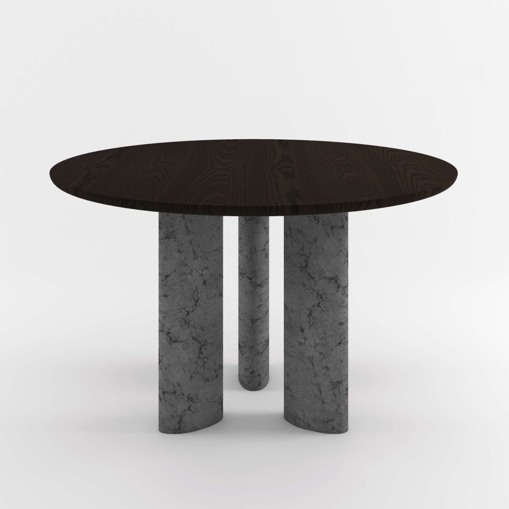 The Geo Round Dining Hall Tables By Daniel Boddam Studio Image 014