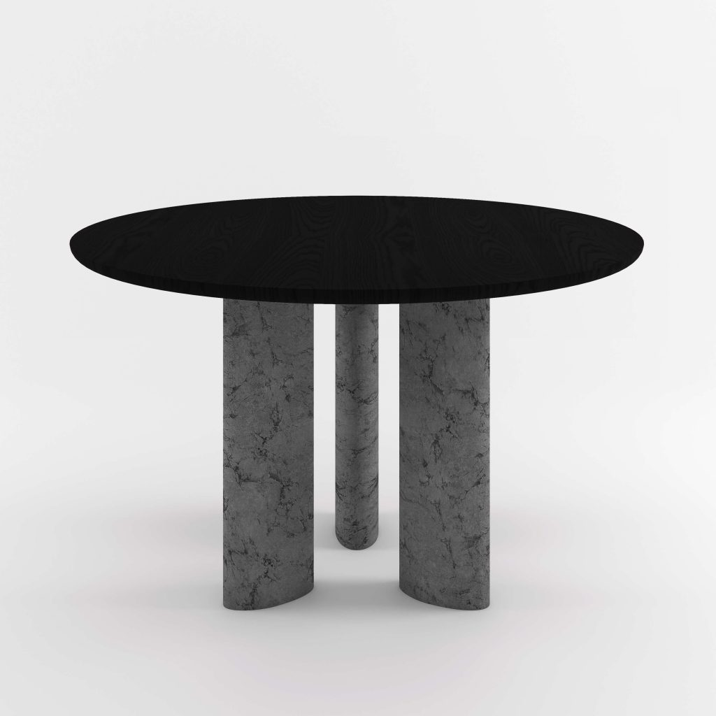 The Geo Round Dining Hall Tables By Daniel Boddam Studio Image 015