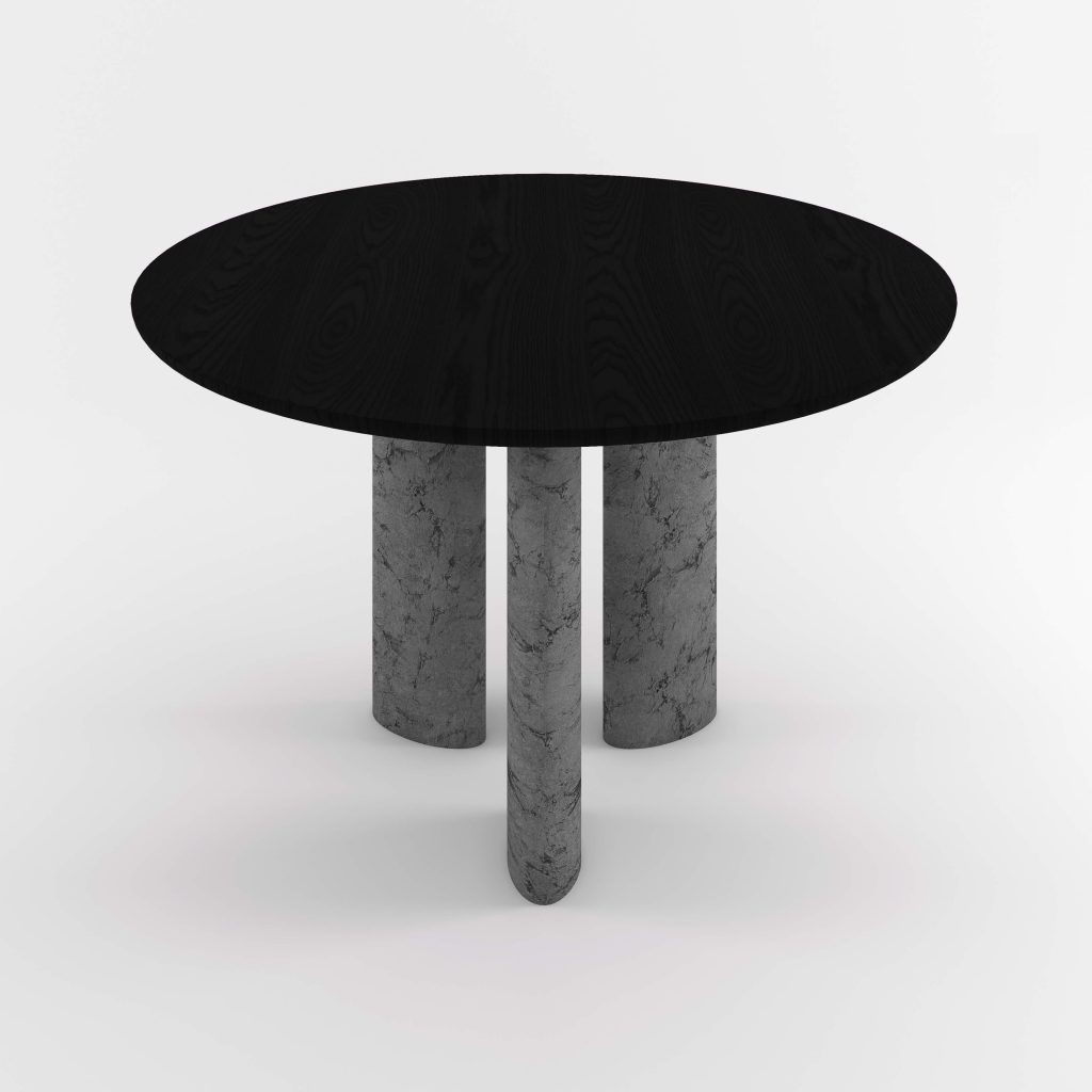The Geo Round Dining Hall Tables By Daniel Boddam Studio Image 016