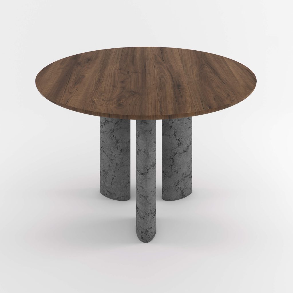 The Geo Round Dining Hall Tables By Daniel Boddam Studio Image 017