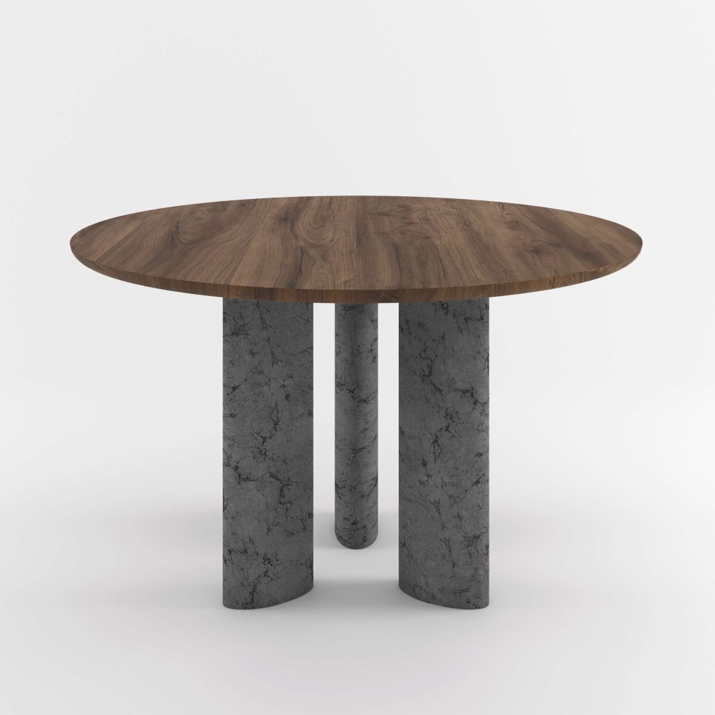 The Geo Round Dining Hall Tables By Daniel Boddam Studio Image 018