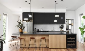 Versatility and Style – K3 Kitchen System in SoftTouch Black by Cantilever Issue 03 Profile The Local Project