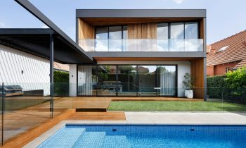Making The Old New Again Monochrome House By Pleysier Perkins Malvern East Vic Australia Image 02