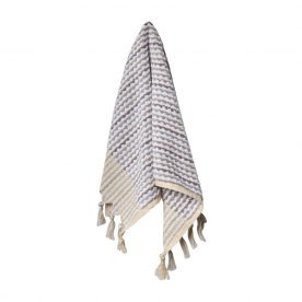 Grey & White Wave Hand Towel By Loom Towels Product Directory The Local Project Image 01