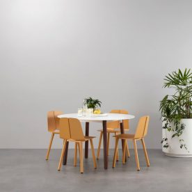 Seam Round Dining Table by Adam Cornish - Product Directory - The Local Project - Image 01