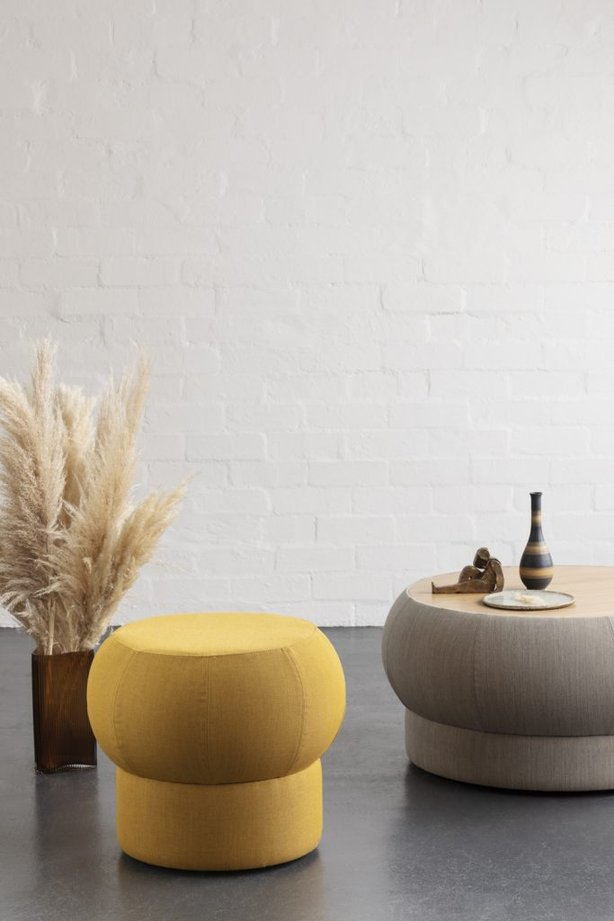 Zola Ottomans & Tables By Anne Claire Petre Product Directory The Local Project Image 01