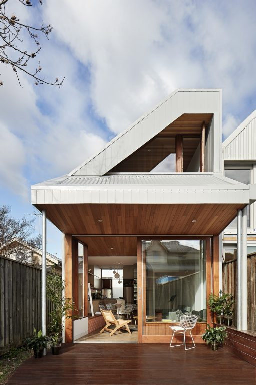 Feng Shui House By Steffen Welsch Architects Clifton Hill Vic Australia Image 01