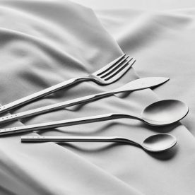 Brushed Silver 24pc Cutlery Set By Krof Product Directory The Local Project Image 07