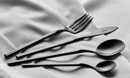 Krof Cutlery Collection No1 Matte Black 1296x