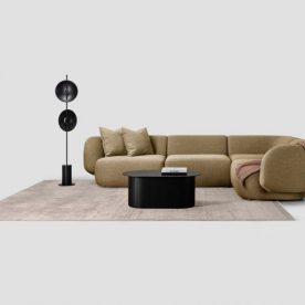 Comoda 4 Piece Corner Modular Sofa By Biasol 1