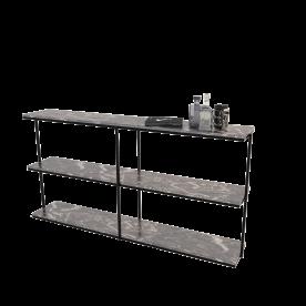 Remy Woodcock Grid Shelf Small. Min