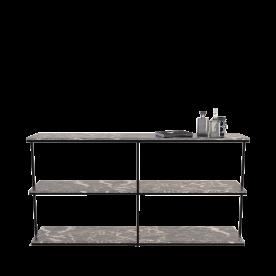 Remy Woodcock Grid Shelf Small Min