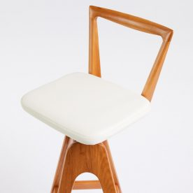 The Danish Bar Stool By Peter Brown Product Directory The Local Project Thbrown Lightash White 6