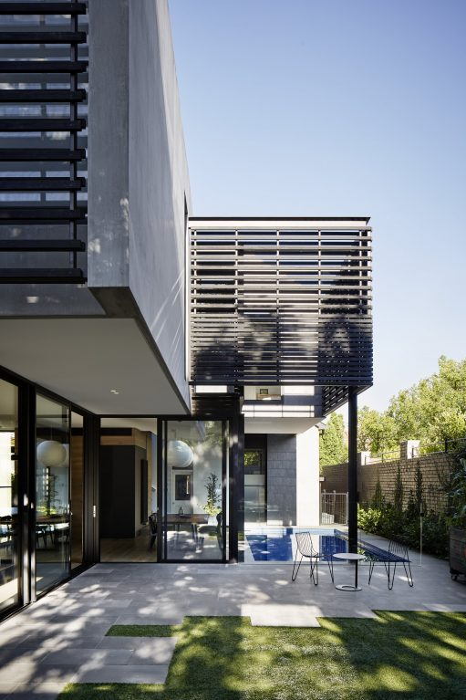 Over Pool House By Jane Riddell Architects Hawthorn Vic Australia Image 01