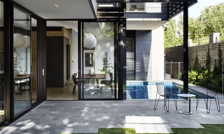 Over Pool House By Jane Riddell Architects Hawthorn Vic Australia Image 05