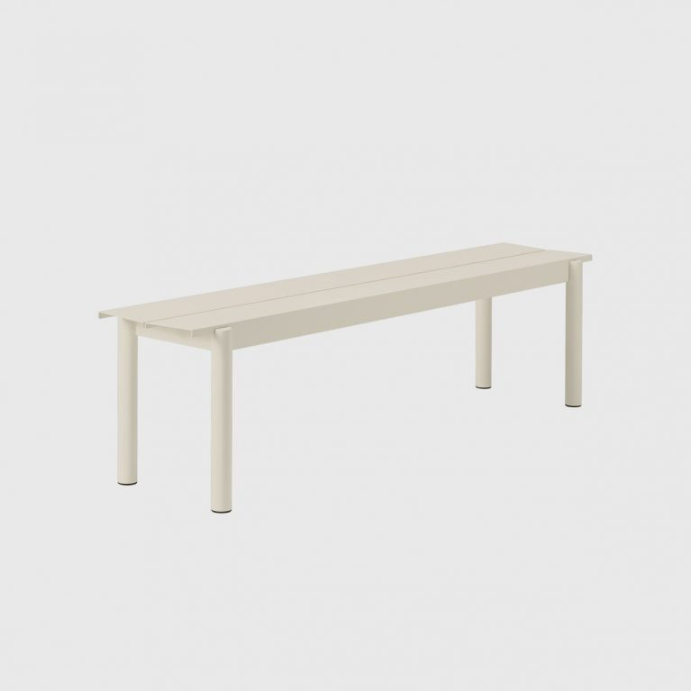 Linear Steel Bench By Living Edge
