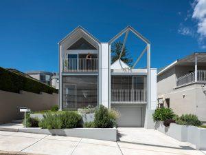 Steel Gable House By Hamish Watt Architect Mark Szczerbicki Design Studio Abbotsford Nsw Australia Image 01