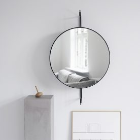 Rotating Mirror Black By Kristina Dam Studio Product Directory The Local Project 02