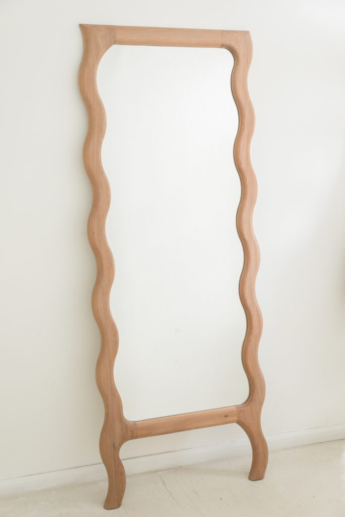 Wavy Floor Mirror By Knot Studio Image 02
