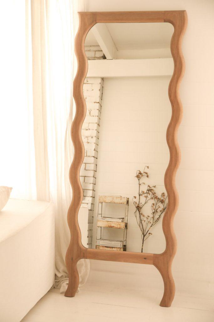 Wavy Floor Mirror By Knot Studio Image 05