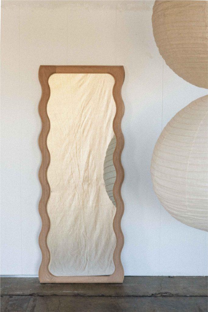 Wavy Floor Mirror By Knot Studio Image 06