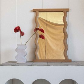 Wavy Wall Mirror By Knot Studio Image 01