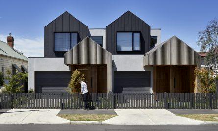 Dover Townhouses By Dood Studio Flemington Vic Australia Image 01