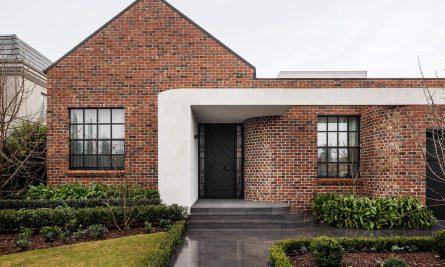 Deco House By Dean Dyson Architects Essendon Vic Australia Image 01